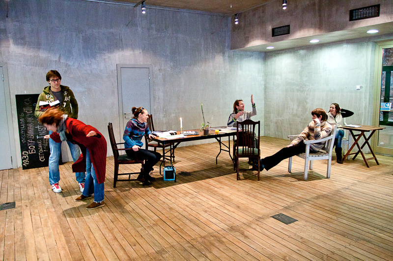 фото репетиций балета
